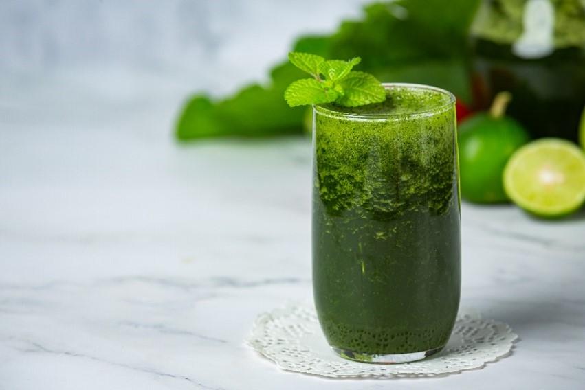 leafy diet drink