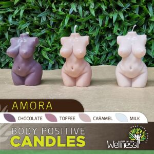 Body Positive Candles - Amora