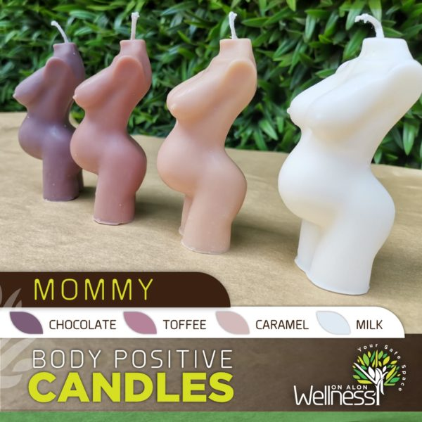 Body Positive Candles - Mommy